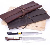 Japanese Tools for Home & Kitchen. Leather Knife Case