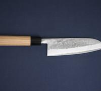 Japanese Tools for Suzuki-ya Cutlery by Tadafusa  / Japanese Kitchen Knives. Suzuki-ya Santoku by Tadafusa / All Purpose Kitchen Knives