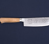 Japanese Tools for Suzuki-ya Cutlery by Tadafusa  / Japanese Kitchen Knives. Suzuki-ya Nakiri by Tadafusa / Vegetable Knives