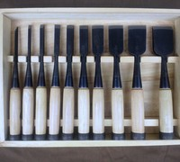 Japanese Tools for Ohuchi (Ouchi) Bench Chisels / Oire Nomi. Ohuchi (Ouchi) Kakuuchi Oire Nomi / Bench Chisels