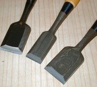 Japanese Tools for Takahashi Chisels. Takahashi Bench Chisels/ Mentori Oire Nomi
