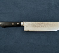 Nakiri / Vegetable Knife - Pounded Damascus VG-10 Steel 10602M